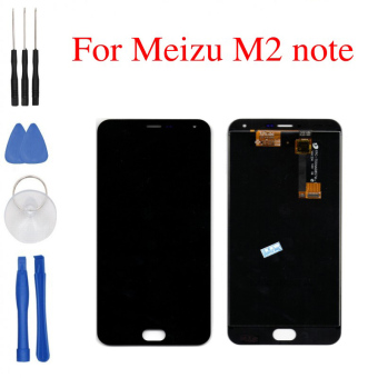 Harga Bluesky High Quality New LCD Display + Digitizer Touch Screen assembly For Meizu M2 Note Phone 5.5 inch