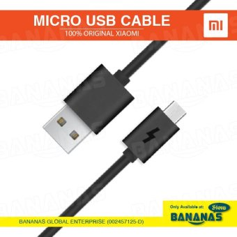 Harga Originalfor XiaoMi Micro USB 2A Fast Charging Quick Charger Data Cable (1.2m) - intl