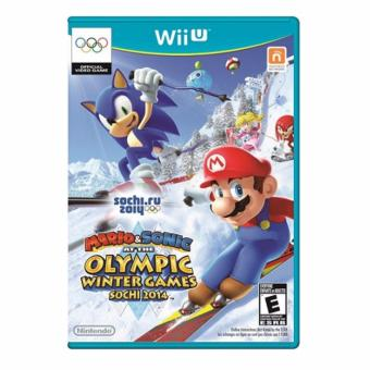 WII U Mario & Sonic At Sochi 2014 Olympic(Blue)