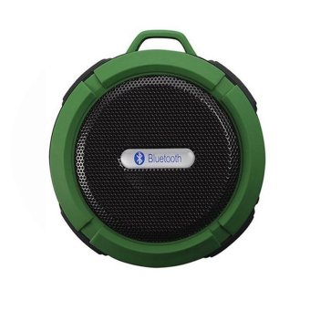 Harga C6 Portable Wireless Bluetooth Speaker with Calls Handsfree and Suction Cup Waterproof Bluetooth Shower Speaker MP3 Music Player - intl