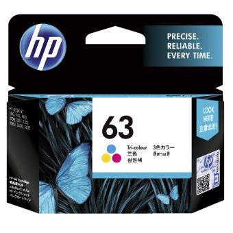 Harga Original HP 63 Colour Ink
