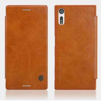 Harga Nillkin Qin Leather Flip Case For Sony Xperia XZ