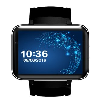 Harga DM98 Smart Watch 3G WCDMA Watch Phone 2.2inch 512MB RAM 4GB ROM Black - intl