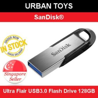 Harga SanDisk Ultra Flair USB3.0 Flash Drive 128GB / Singapore Seller / 5 Years Warranty by SanDisk / High Speed / Stylish / Tough / Password Protected