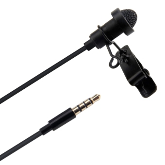 Harga Aputure A.lav ez Broadcast Quality Omnidirectional Lavalier Condenser Microphone with Wind Shield Windscreen for Mobile Phone / Tablet