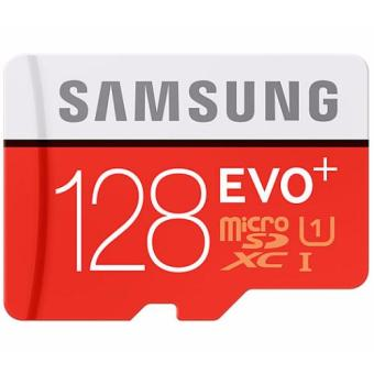Harga SAMSUNG Micro SDXC Card 128GB Evo Plus Class 10 with SD adapter