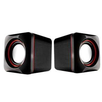 Harga Audiobox U-Cube USB Powered 2.0 Speakers (Red)