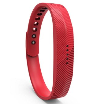 Harga Replacement Smart Bracelet Wristband for Fitbit Flex 2 - Red - intl