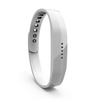 Harga Fitbit Flex 2 Bracelet Strap Replacement Band S(White) - intl