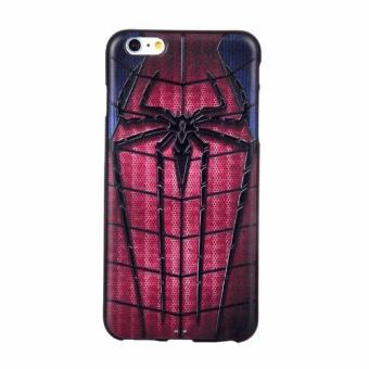 Harga For Apple iPhone 6 Plus / 6s Plus TPU 3D Painting Cover Case(Spider-Man) - intl