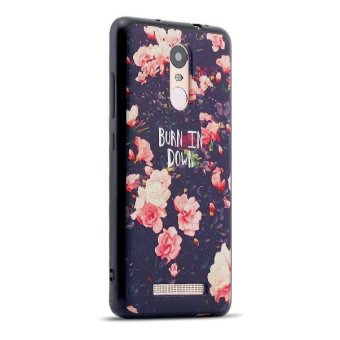 Harga Silica Gel Soft Phone Case for Xiaomi Redmi Note 3 (Multicolor) - intl