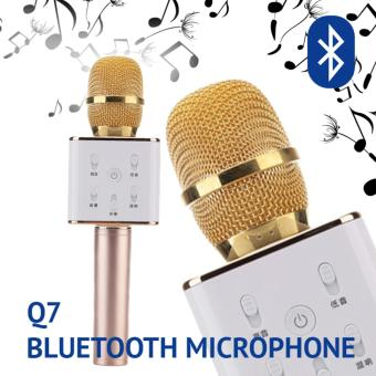 Harga Bluetooth Microphone TUXUN Q7 (Gold)