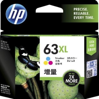 Harga HP 63XL Colour Ink