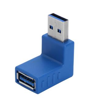 2 Pcs USB 3.0 Type A Male to Female Adapter Convertor #1 - intl