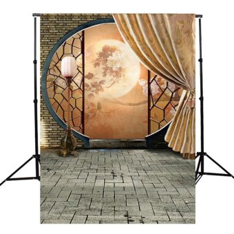 Harga 3x5FT Chinese Antiquity Moon Mid-autumn Festival Photography Background Backdrop