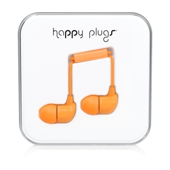 Harga Happy Plugs In-Ear Orange