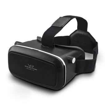 2016 Newest Version 3D VR Headset Box Virtual Reality Glasses for4.0~6.0 Inch Smartphones for 3D Movies with Adjustable Focal/pupilDistance - intl