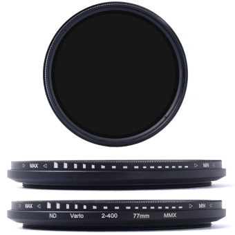 Harga 77mm Fader Variable ND Filter Neutral Density ND2 to ND400 for DSLR Camera