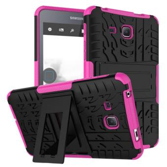 Harga Ajusen one piece Case For Samsung Galaxy Tab A A6 7.0 inch T580 T585 Cover Tablet TPU & PC two-in-one bracket protection shell dazzling suit tire sets - intl