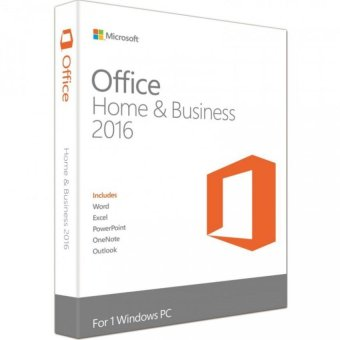 Harga Microsoft Office 2016 Home and Business (1 PC) Guarranteed Local Singapore Distributor's Stocks