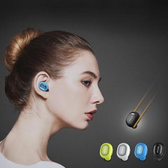 Harga QCY Q26 Wireless Mini In-ear Stereo Smart Bluetooth Headset Earphone Microphone Microphone(Black) - intl