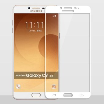 Full Cover Tempered Glass for Samsung Galaxy C9 Pro C9pro C9000 2.5D 9H Anti Scratch