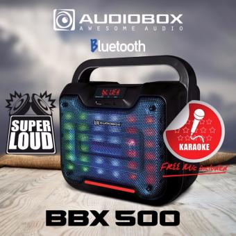 Harga Audiobox BBX 500 Bluetooth Speaker