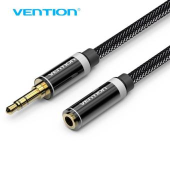 Harga Vention 3.5mm Audio Extension Cable Stereo Male to Female Aux Phone Cable Headphone Adapter for iPhone 6s 6 MP3 CD Player Radio - intl