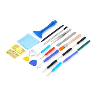 CHEER 22 in 1 Open Pry Repair Screwdrivers Sucker Tools Kit For Cell Phone Tablet