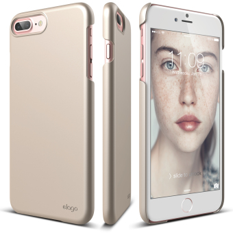 Harga Elago Slim Fit 2 Case for iPhone 7 Plus (5.5inch) Champagne Gold + Front Protection Film included