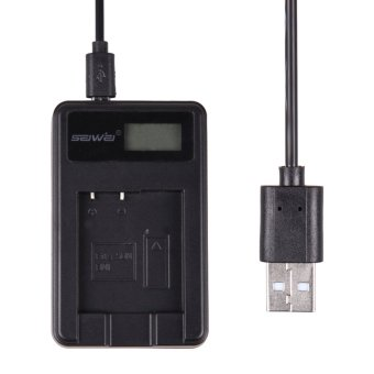 Harga Charger + LCD Show Screen for NP-BN1 / NP-120