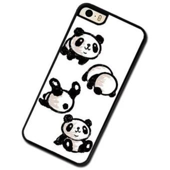 Harga Custom Panda Rolling Phone Case For Samsung Galaxy S5 - intl