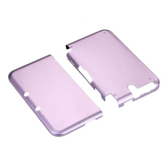 Aluminium Hard Shell Case Skin Cover For Nintendo 3DS XL LL (Pink) - intl