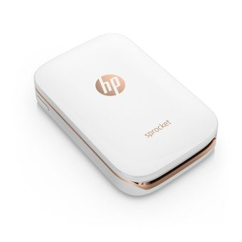 Harga HP Sprocket Photo Printer (White) + Redeem 2 FREE ZINK Paper