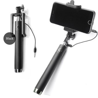 Harga Selfie stick three generations drive-by-wire monopot (Black) - intl