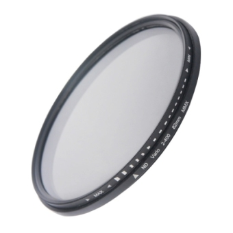 Harga 82mm ND Fader Neutral Density Adjustable Variable Filter ND 2 to ND 400 Filter