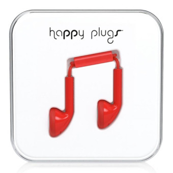 Harga Happy Plugs Earbud Red