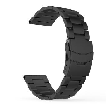 Universal Stainless Steel Metal Replacement Smart Watch Strap Bracelet for Fenix 3 / Fenix 3 HR Smart Watch(Black) - intl