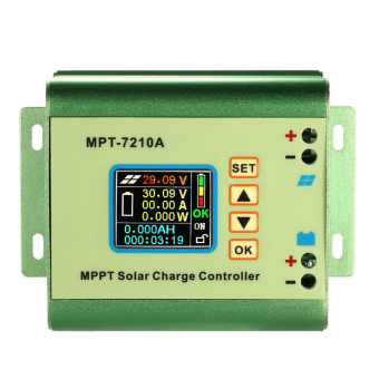 Harga LCD MPPT Solar Regulator Charge Controller 24/36/48/60/72V 10A DC-DC Boost