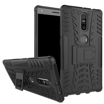 Harga Armor case For Lenovo Phab 2 Plus Silicone & Plastic 2 in 1 Shockproof protector with kickstand Holder Stand - intl
