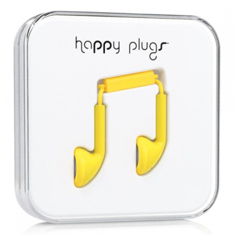 Harga Happy Plugs Earbud Yellow