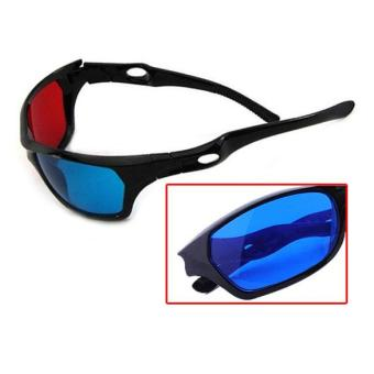 Harga Red Blue 3D Vision Glasses