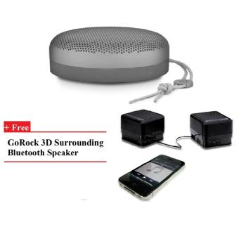 Harga B&O PLAY A1 Portable Speaker (Charcoal Sand) + GR