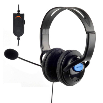 Harga DELUXE Headphones with Microphone(Black)