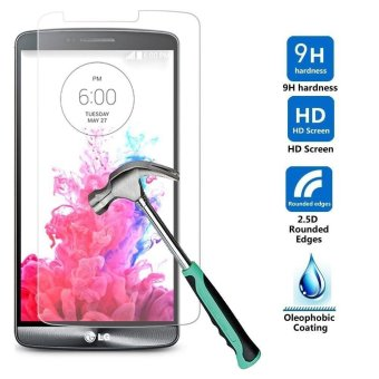 Harga Tempered Glass Screen Protector for LG G6 Extreme Protection Shockproof front Film - intl