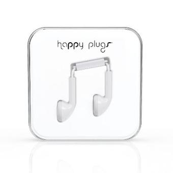 Harga Happy Plugs Earbud White