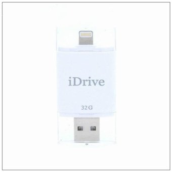 Harga 128GB 128GB 128GB OTG USB Flash Drive USB Stick iDrive Reader iFlash Fat32 exFAT Faster External Storage Memory for iphone 6 5s Mac - intl