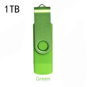 Harga 1 TB Dual OTG USB 3.0 Phone Port U-Disk Pen Flash Drive MemoryStick For Android - intl