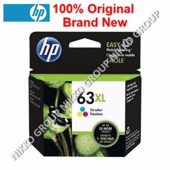 Harga [Original] HP 63XL Color Ink Cartridge for HP Printer Deskjet / Officejet / Envy