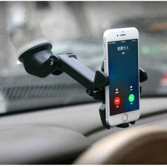 ABC Sucker Mounts Holder 360°Rotable Car Dashboard/Windshield For Cell Phones - intl